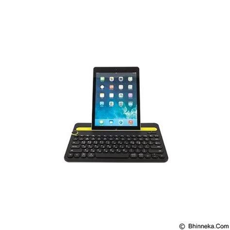 Keyboard Multi Device Bluetooth Logitech K480 Black jual logitech bluetooth multi device keyboard k480 920