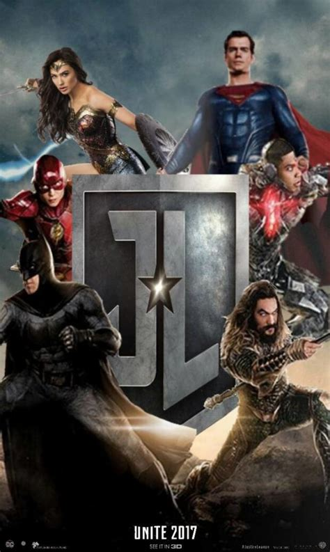 Dc Comics Justice League 16 May 2017 justice league poster by 13josh16 on deviantart