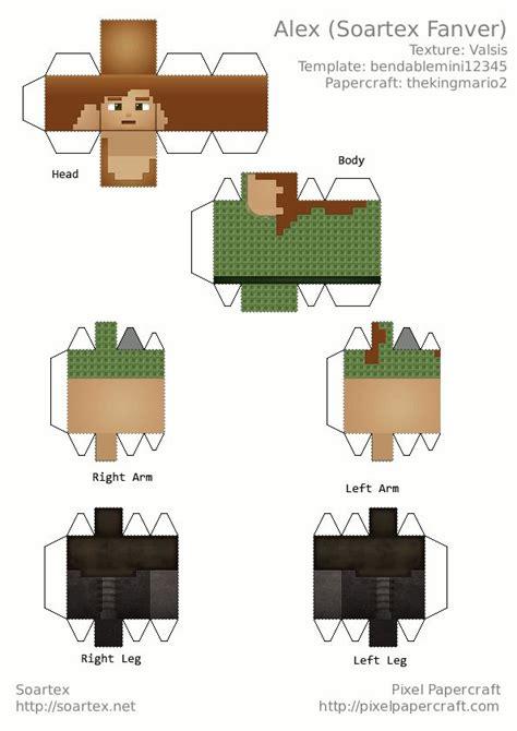 pin pin papercraft chest minecraft forum