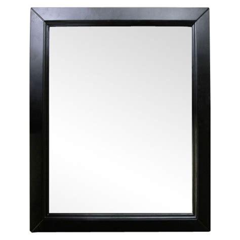 bellaterra home 7610 m sw wood framed mirror atg stores bellaterra home hercules 30 in w x 1 in d x 36 in h
