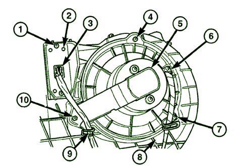 2004 dakota blower motor wiring diagram durango blower