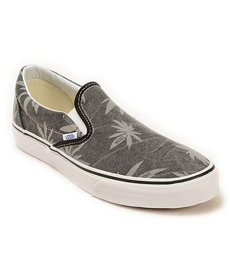 vans slip on doren palm skate shoes
