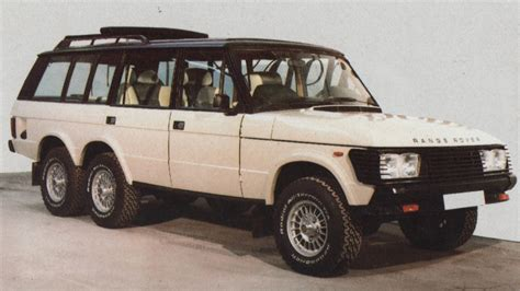80s land rover falconry and 80s excess delivered 6x6 range rovers