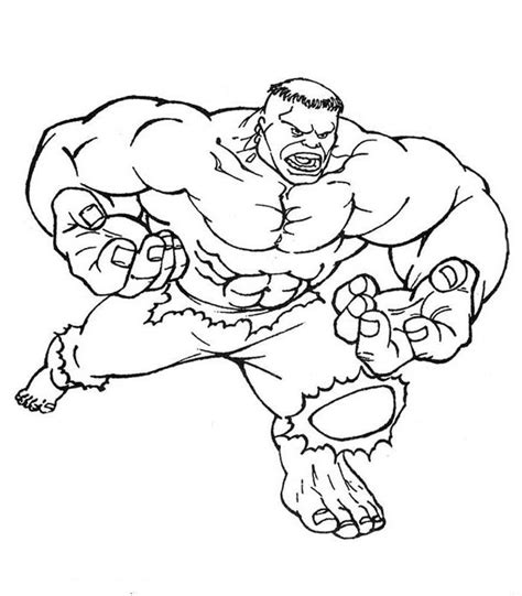 dibujos para pintar hulk como desenhar super herois az dibujos para colorear