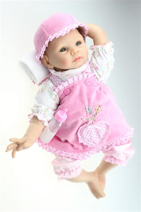 Handmade Baby Doll Clothes - 22 handmade lifelike baby doll silicone vinyl reborn