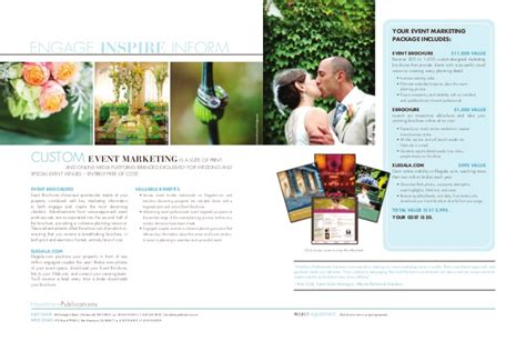 Wedding Brochure by Wedding And Event Brochures