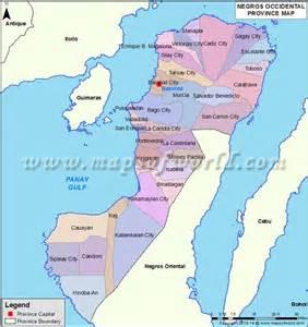 Negros Occidental Map | negros occidental map missionary pinterest