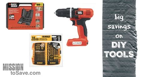big savings on tools for diy and home improvement projects