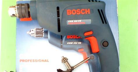 Bor Merk Bosch impact drill atau dikenal dengan mesin bor biasa