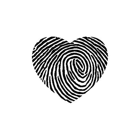 heart fingerprint tattoo best 25 fingerprint tattoos ideas on