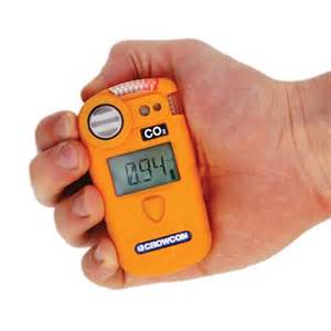 portable co2 detector gasman with charger