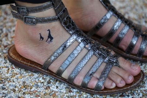 temporary ink tattoos 6 months 17 best ideas about giraffe tattoos on small