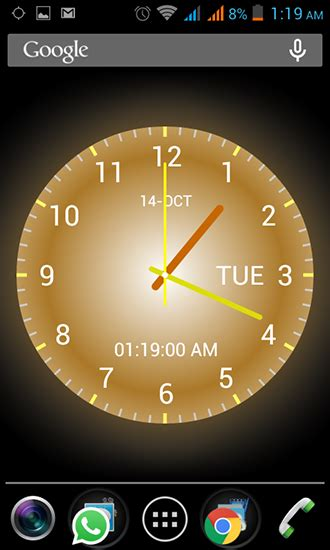 android clock themes live wallpapers analog clock live wallpaper for android analog clock free
