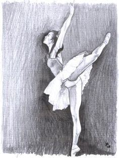 imagenes a lapiz de ballet dibujos on pinterest paul cadden ballerina drawing and