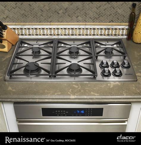 dacor renaissance cooktop rgc365sng dacor renaissance 36 quot gas cooktop