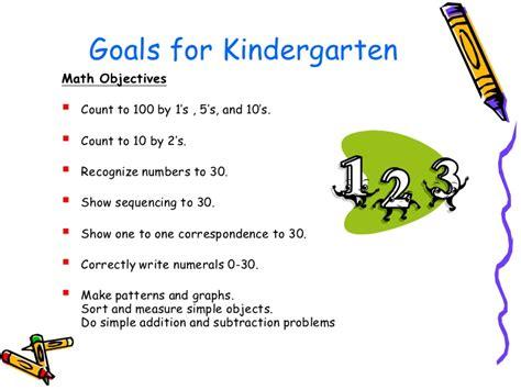 kindergarten pattern objectives kindergarten orientation night