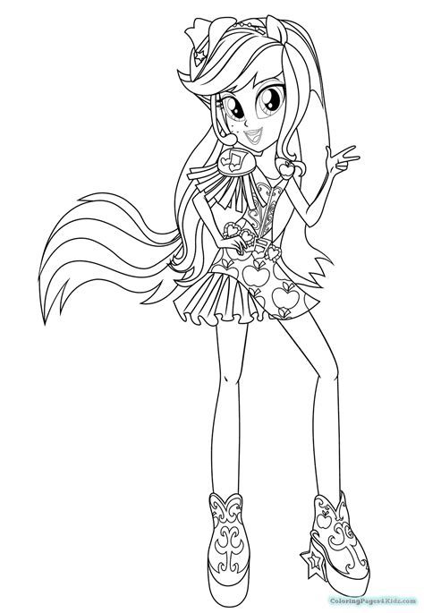 my little pony rainbow rocks coloring pages applejack my little pony equestria girls rainbow rocks coloring