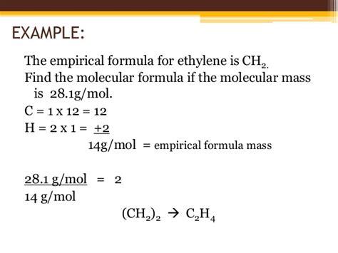 formula 3 vs formula b sc i chemistry i u iii b molecular formula and