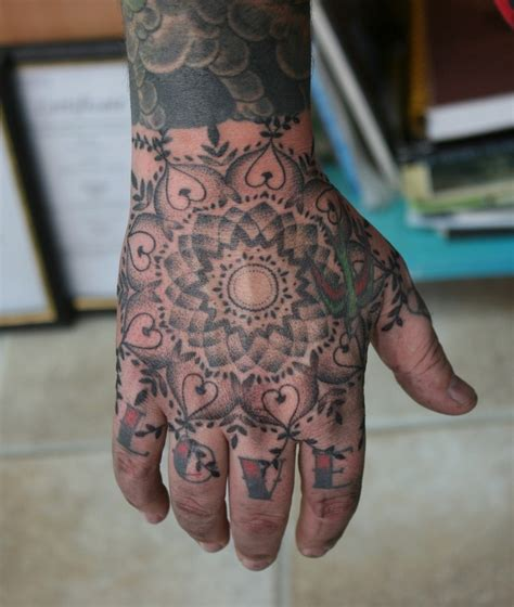 mandala tattoo norwich 7 best hand poked images on pinterest bold stripes hand