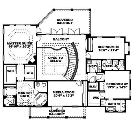 mediterranean style floor plans mediterranean style house plan 4 beds 5 baths 4763 sq ft