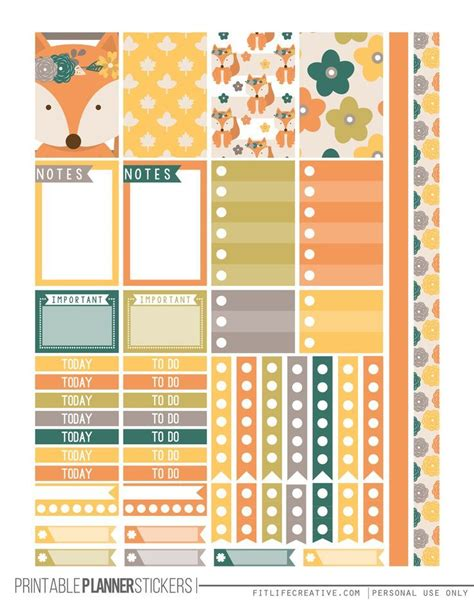 free printable planner pages classic size 758 best planner decor printables images on pinterest