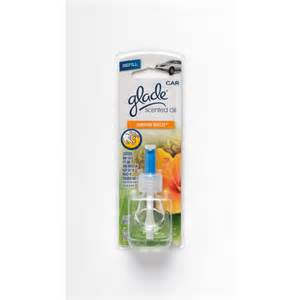 Air Freshener Refill Glade 174 Auto Scented Automotive Air Freshener Refill