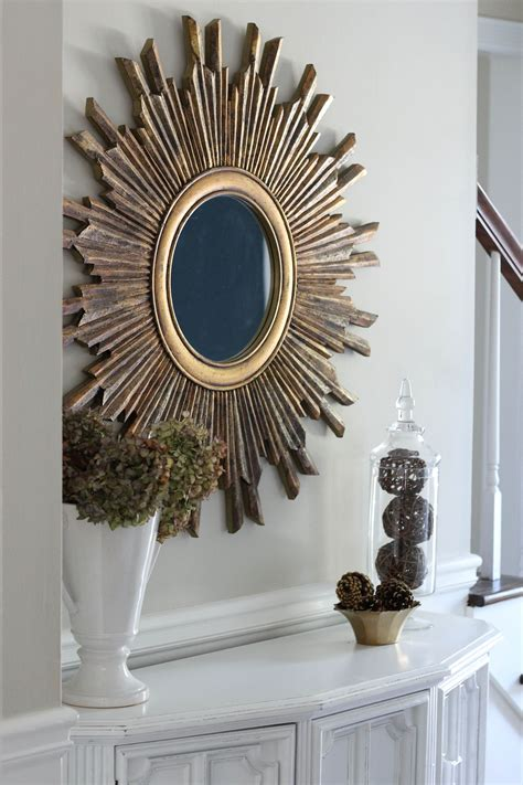 entry way mirror entryway makeover erin spain