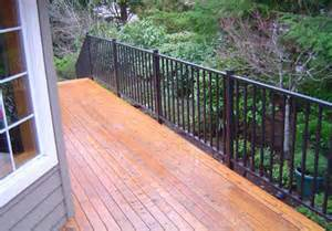 Handrail Systems For Decks Deck Railing Systems Easyrailings Aluminum Railings