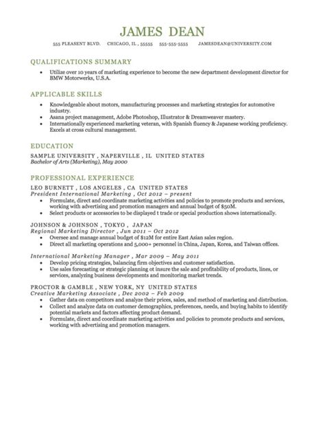 functional resume format resume stuff