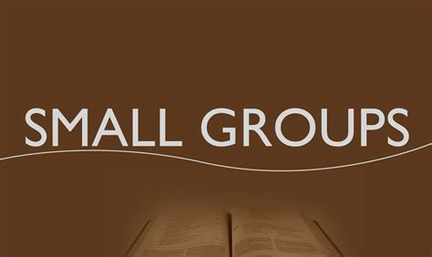 small groups in churches