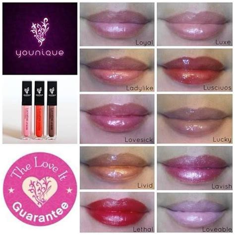 Bioaqua 3d Shine Moisturizing Lip Gloss 43 best younique s lucrative lip gloss images on