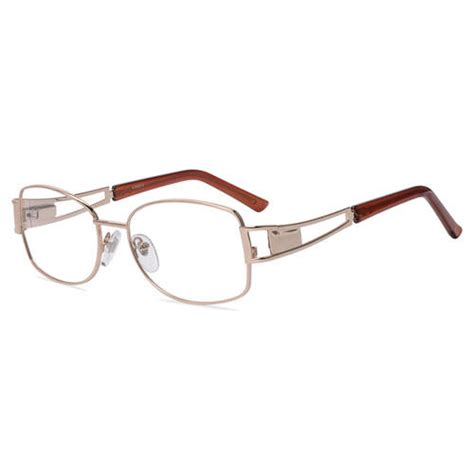 walmart s eyeglass frames shiny gold walmart