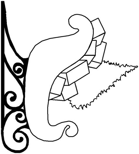 coloring pages of santa sleigh santa sleigh free colouring pages