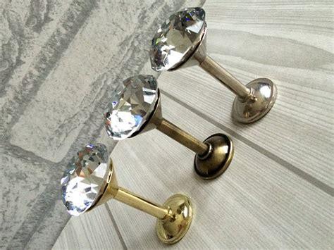 decorative curtain wall hooks rhinestone glass wall hooks decorative hooks clear