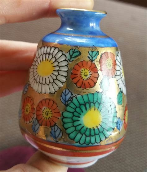 Painted Vase Japan by Quot Mede In Japan Painted Small Vase Or Tea Related