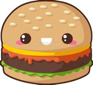 Anime Wall Stickers quot kawaii cheeseburger quot stickers by pai thagoras redbubble