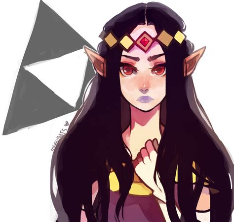 legend of zelda black hair zelda link with black hair albw hilda by sannanai on
