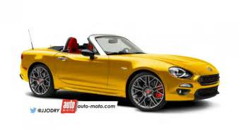 Abarth 124 Spider Scoop Abarth 124 Spider 2017 La Dolce Vitesse Auto
