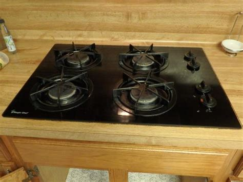Magic Chef Gas Cooktop - opening a magic chef 82lk 3k gas cooktop doityourself