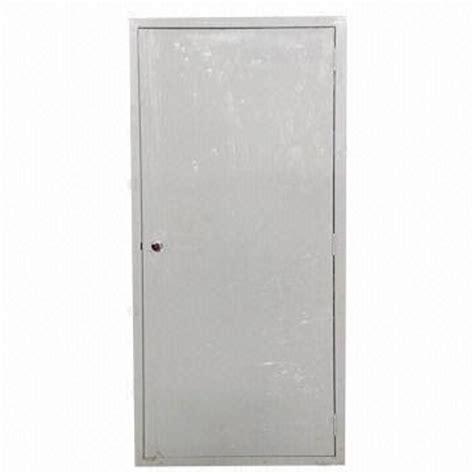 Exterior Steel Doors And Frames Modular Exterior Doors Steel Door Frames Electrostatic Powder Coating Flat Surface Steel