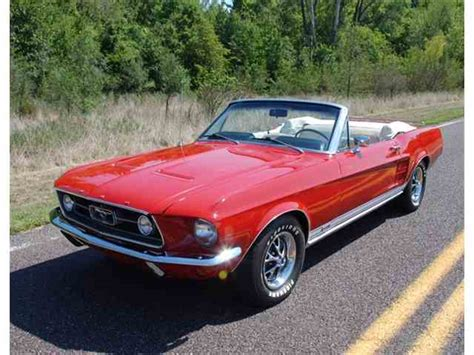1967 Ford Mustang Gta Convertible 1 Of 559 Produced With This Paint And Trim For Sale Photos 1967 Ford Mustang For Sale On Classiccars