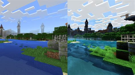 minecraft better graphics minecraft looks like a completely different in 4k