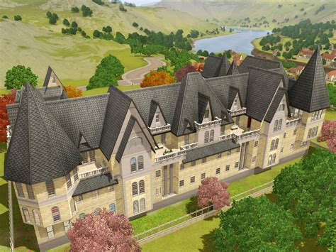 Victorian Mansion Floor Plans Mod The Sims Grothfort Castle