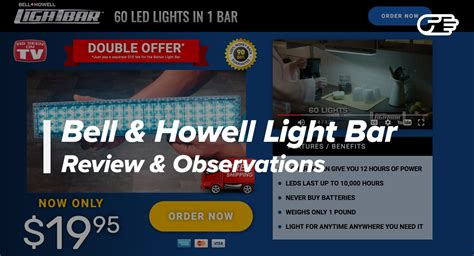 light bar bell howell bell howell light bar reviews is it a scam or legit