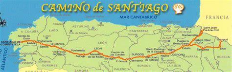 camino maps photos st jean pied de to los arcos spain
