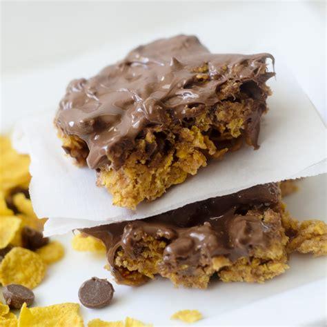 Cornflakes Choco no bake crispy corn flake chocolate peanut butter bars