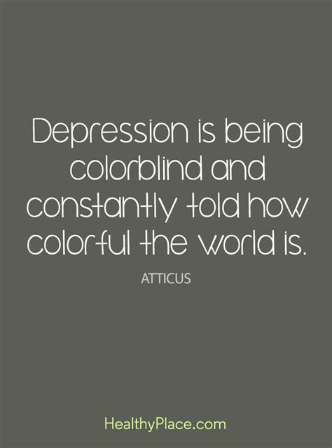 Quotes On Depression And