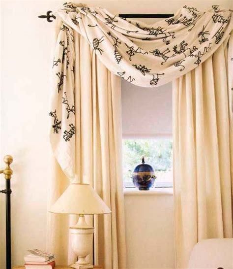 Swag Valances For Windows Designs 1000 Images About Window Treatment W Scarves On Pinterest