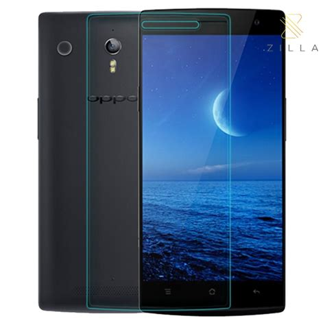 Tempered Glass Oppo Find 7x9007 zilla 2 5d tempered glass curved edge 9h 0 26mm for oppo find 7 jakartanotebook