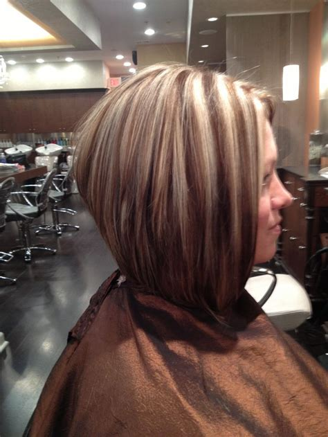 Hair Styles Bob Lo Lites | 17 images about bob haircuts highlights on pinterest